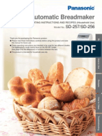 Panasonic Breadmaker