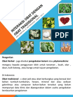 IO Obat Dengan Obat Tradisional (Herb Drug Interaction) 2011 Kel. 2(FILEminimizer)