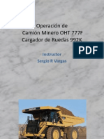 Presentacion Curso Operacion Camion 777F y 992K