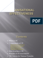 Org. Effectiveness