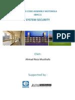 Listing Code Motorola 68HC11 - System Security