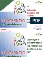 O Referencial CIF Nos Açores