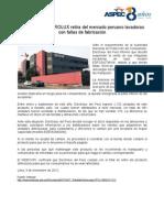 ELECTROLUX retira del mercado peruano lavadoras con fallas de fabricación