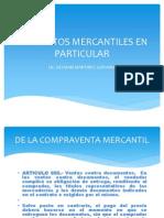 Contratos Mercantiles en Particular