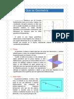 Que es Geometría111
