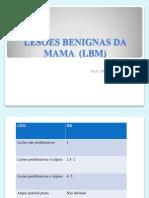 LESÕES BENIGNAS DA MAMA  internato
