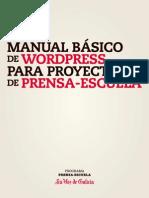 Guia Wordpress Prensa-Escuela Castellano