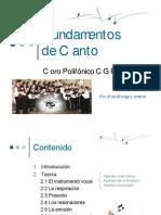 2007 08 Coro CGR - Fundamentos de Canto