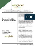 A&E Decennial Liability