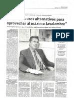 Oliván en Diario de Teruel 041112