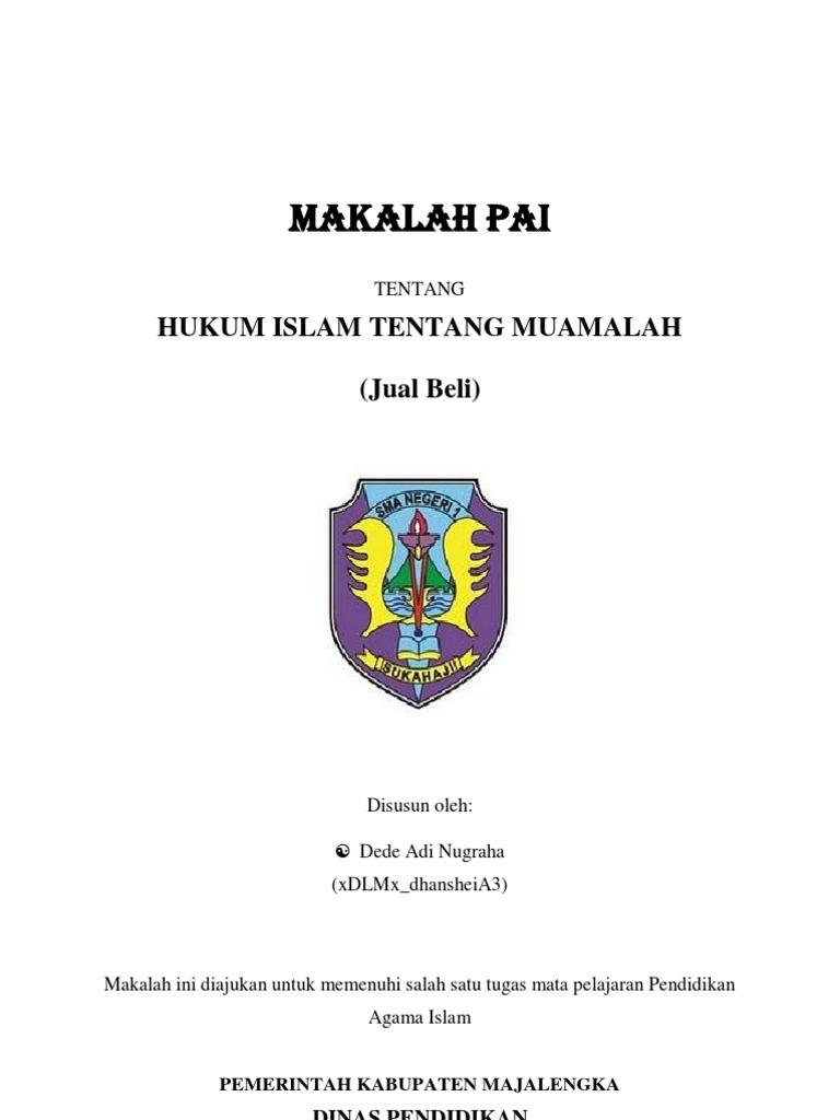 Doc Makalah Muamalah Fiqih Jual Beli Qiradh Dan Riba Ana Rosyida Academia Edu