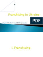 Franchising in Ukraine