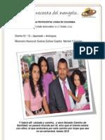 INFORME MISIONERO A OCTUBRE 2012 - DISTRITO 12 -APARTADÓ, ANTIOQUIA