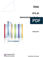 CP R75.40 Gaia AdminGuide