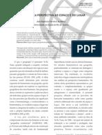 Geog Humanistica - A Humanistica Perspectiva Do Espaco e Do Lugar - Joao Batista Ferreira Mello