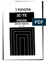 3cte engine repair manual rh scribd com toyota 3c engine repair manual pdf toyota 3c turbo diesel engine manual
