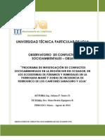 Sistematización Loja-Saraguro