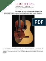 REL Musical Instruments 2588 Nov 2012