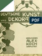 Deutsche kunst und decoration