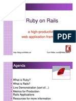 Ruby on Rails - A High-productivity Web Application Framework (June 2005)