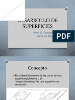 Desarrollo de Superficies