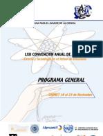 Asovac 2012 Programa General