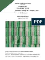 Projet de thèse Adrien Doron