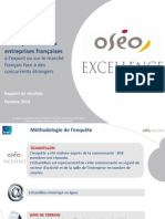 Ipsos OSEO Rapport