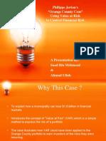 Orange County Value at Risk Case.ppt By SAaD Bin Mehmood IM Sciences Peshawar