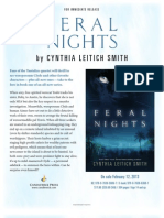 Feral Nights by Cynthia Leitich Smith - Author Q&A