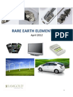 Rare Earth Elements 101 April 2012