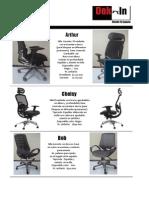 Catalogo y Precios Dek-In Producto Terminado y Sillas