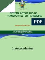 Presentación de la MPA sobre el SIT