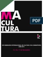 Presentacion 1er Seminario Internacional de Cvc Redes (1)