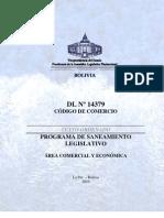 CODIGO de COMERCIO - Decreto Ley No14379 - Vigente Con Derogaciones