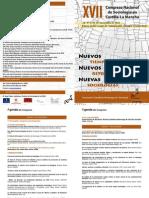Programa XVII Congreso Almagro