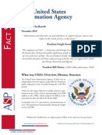 Fact Sheet  - The United States Information Agency