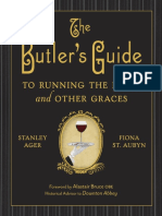 The Butler's Guide to Running the Home and Other Graces by Stanley Ager and Fiona St. Aubyn