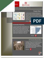 Marketing Newsletter - Noviembre 2012