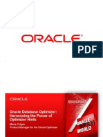 Oracle Database Optimizer Harnessing the Power of Optimizer Hints