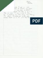 Process Log Critical Essay