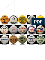 Anti-FDR Campaign Buttons