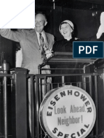Dwight and Mamie Eisenhower Whistle Stop Tour