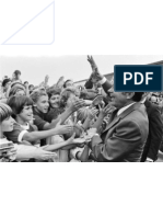 Nixon Greets Students