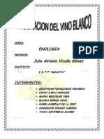 Elaboracion de Vino Blanco