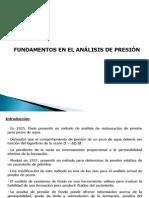 Fundamentos del análisis de pruebas de presión
