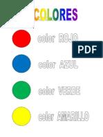 Los Colores Y Las Vocales + Actividades