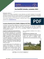 Carta Informativa de SweFOR Noviembre 2012-1