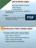 Derivação do modelo lógico