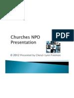 churches npo registration